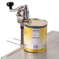 Nemco 56050-1 CanPRO Heavy Duty Side Cut Manual Can Opener - Permanent Mount