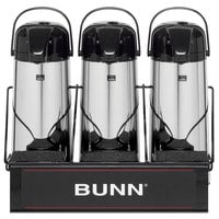 Bunn 25371.0003 APR3 Three Section Airpot Serving Rack