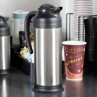 Choice 34 oz. Stainless Steel Insulated Carafe / Server