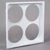 Avantco 360COVER8 4-Hole Can Holder