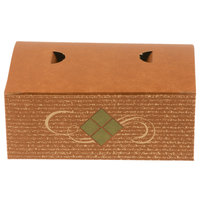 7 inch x 4 1/2 inch x 2 3/4 inch Hearthstone Take Out Snack / Chicken Box with Tuck Top - 500/Case