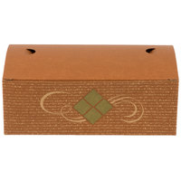 8 7/8 inch x 4 7/8 inch x 3 1/16 inch Hearthstone Take Out Lunch / Chicken Box with Tuck Top - 250/Case