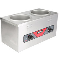 Nemco 6120A Double Well 4 Qt. Countertop Warmer - 120V, 700W
