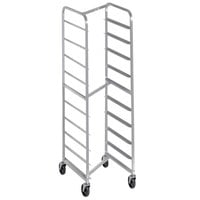 Channel 404SN 10 Pan End Load Stainless Steel Nesting Bun / Sheet Pan Rack - Assembled