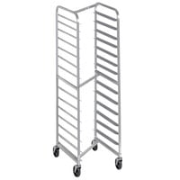 Channel 402SN 15 Pan End Load Stainless Steel Nesting Bun / Sheet Pan Rack - Assembled