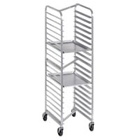 Channel 401SN 20 Pan End Load Stainless Steel Nesting Bun / Sheet Pan Rack - Assembled