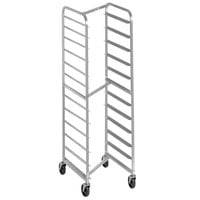 Channel 403SN 12 Pan End Load Stainless Steel Nesting Bun / Sheet Pan Rack - Assembled