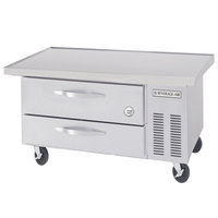 Beverage-Air WTRCS36-1-48-FLT-003 48 inch Two Drawer Refrigerated Chef Base with Flat Top