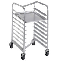 Channel 426SN 7 Pan End Load Stainless Steel Nesting Bun / Sheet Pan Rack - Assembled