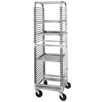 Channel 560N 36 Pan End Load Aluminum Bun / Sheet Pan Rack with Wire Slides - Assembled