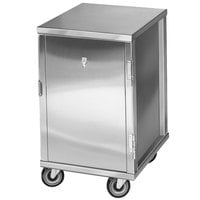 Channel 56C 20 Pan End Load Enclosed Non-Insulated Aluminum Bun / Sheet Pan Rack - Assembled