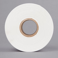 Tor Rey Z-12900024 2 1/4 inch x 1 1/2 inch Blank White Thermal Label Roll, 1500 Labels/Roll