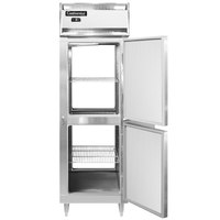 Continental DL1F-SA-PT-HD 26 inch Solid Half Door Pass-Through Freezer