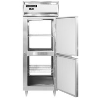 Continental DL1FX-SA-PT-HD 36 inch Extra-Wide Solid Half Door Pass-Through Freezer