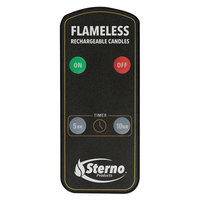 Sterno 60303 2.0 Rechargeable Flameless Candle Remote Control