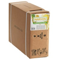 Narvon 3 Gallon Bag in Box Pineapple Juice Syrup