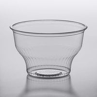 Choice 8 oz. Clear Plastic Dessert Cup   - 50/Pack