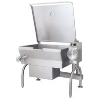 Cleveland SGL-30-T1 Natural Gas 30 Gallon PowerPan Open Base Tilt Skillet
