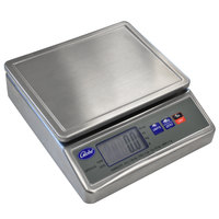 Globe GPS10-S 11 lb. Stainless Steel Waterproof Digital Portion Control Scale
