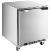 Beverage-Air UCF27AHC-24-23 27 inch Low Profile Undercounter Freezer with Left Hinged Door
