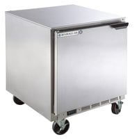 Beverage-Air UCF27AHC-24 27 inch Undercounter Freezer with Left Hinged Door