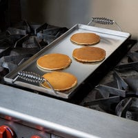Vigor 11 inch x 23 inch Portable Steel Griddle