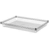 Regency 24 inch x 36 inch NSF Chrome Shelf Basket