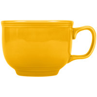 Fiesta Tableware from Steelite International HL149342 Daffodil 18 oz. Jumbo China Cup - 12/Case