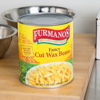 Furmano's #10 Can Fancy Cut Wax Beans