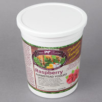 Farmer Rudolph's 32 oz. Raspberry Farmstead Yogurt - 6/Case