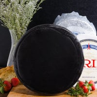 York Valley Cheese Company Druck's 12 lb. Mini Wheel of White Extra Sharp Cheddar Cheese in Black Wax