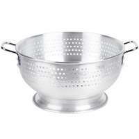 12 Qt. Aluminum Colander with Base and Handles