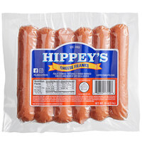 Hippey's 6/1 Cheese Franks - 72/Case