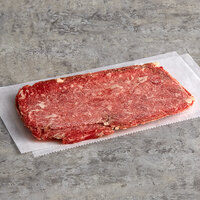 Hometown Pride 5 oz. Flat Style Beef Sandwich Slices - 10 lb.