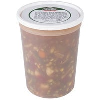 Spring Glen Fresh Foods 5 lb. Vegetable Soup with Beef - 2/Case