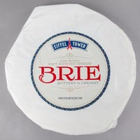 Eiffel Tower Imported Soft Ripened Brie Cheese 6 lb. Wheel