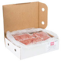 Hometown Pride 6 oz. Chunked and Formed TSK Choice Beef Sandwich Slices - 10 lb.