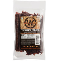 Weaver's 1 lb. Pack Chopped and Formed Turkey Jerky - 4/Case