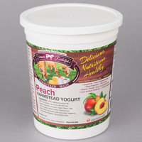 Farmer Rudolph's 32 oz. Peach Farmstead Yogurt - 6/Case