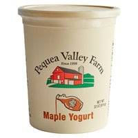 Pequea Valley Farm 32 oz. Maple Yogurt - 6/Case