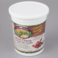 Farmer Rudolph's 32 oz. Black Cherry Farmstead Yogurt - 6/Case