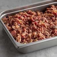 Fontanini 10 lb. Fully Cooked Chopped 3/8 inch Bacon Pieces