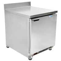 Beverage-Air WTR27AHC-23 27 inch One Door ADA-Height Worktop Refrigerator