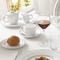 Chef & Sommelier FN026 Infinity 3.5 oz. White Bone China AD Cup by Arc Cardinal - 24/Case