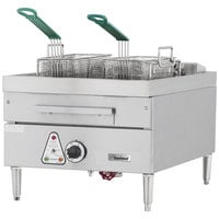 Garland E24-31F 30 lb. Countertop Electric Deep Fryer - 240V, 1 Phase, 12 kW