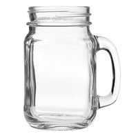 Arcoroc FK203 16.5 oz. Glass Mason Jar with Handle by Arc Cardinal - 12/Case