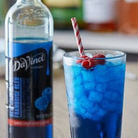 DaVinci Gourmet 750 mL Classic Blue Raspberry Flavoring Syrup