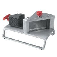 Vollrath 15104 Redco InstaSlice 3/8 inch Fruit and Vegetable Cutter with Scalloped Blades