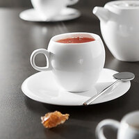 Chef & Sommelier L9605 Nectar 7.25 oz. Bone China Coffee Cup by Arc Cardinal - 24/Case