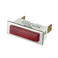 Clamco 219-22 Red Rectangle Lamp